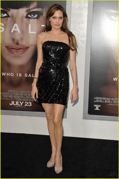 Платье Анжелины Джоли - мини