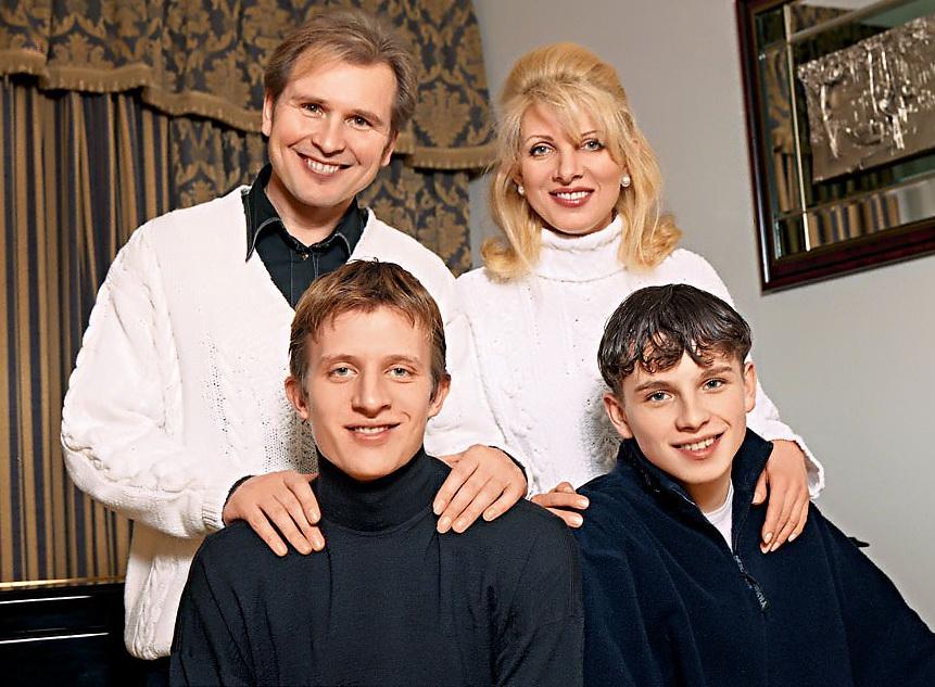 Малинин и дети