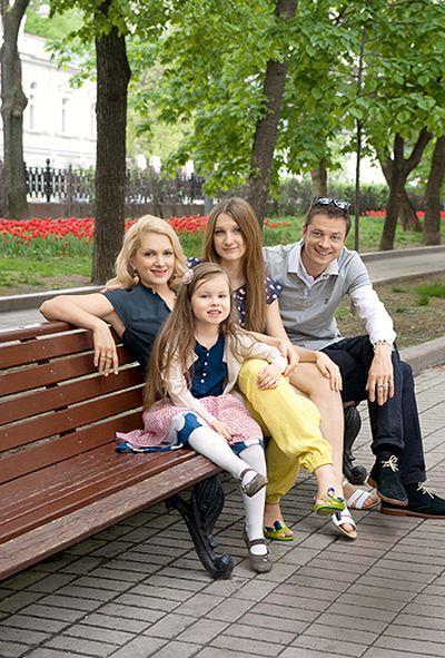 фото мария порошина с детьми