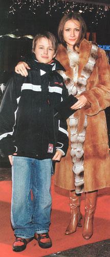 47-летняя Мария Миронова трогательно поздравила старшего сына с 28 ...   500x215
