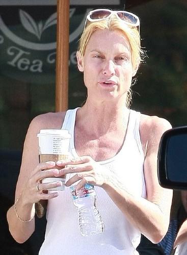 Кристин Бринкли без макияжа