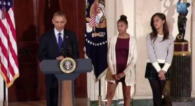 Дочки Обамы опозорились