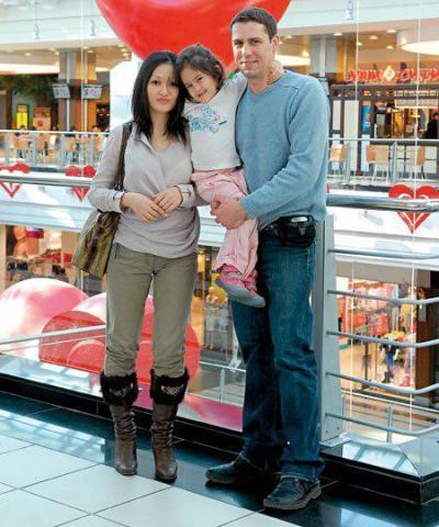 Фото мужа и детей анастасии чернобровиной