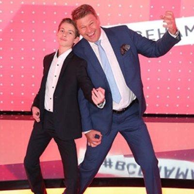 дмитрий губерниев с сыном фото
