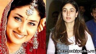 Звезды Индии без макияжа и косметики