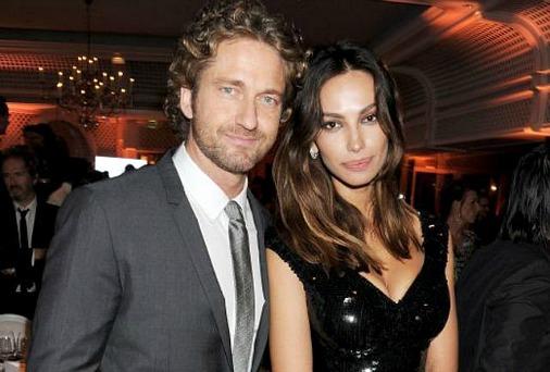 Джерард батлер с женой