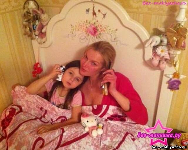 Анастасия Волочкова без макияжа