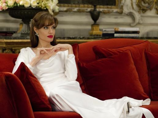 Платье Анжелины Джоли - белое