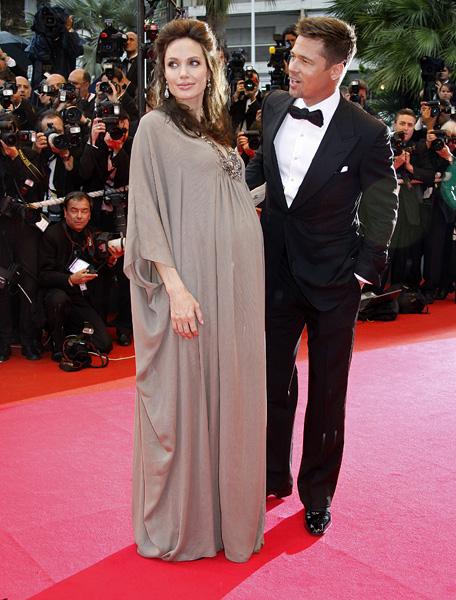 Платье Анжелины Джоли - (беременная Анжелина)