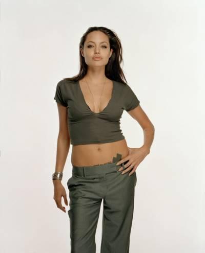 Анджелина Джоли рост вес