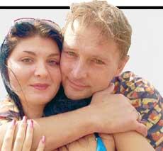 Алексей Нилов, жена