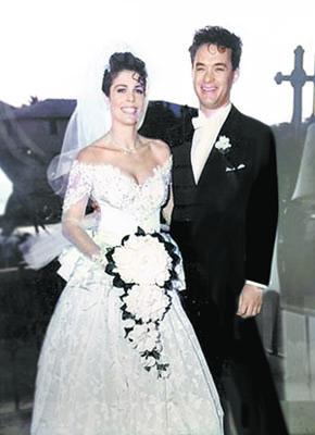 Жена Тома Хэнкса