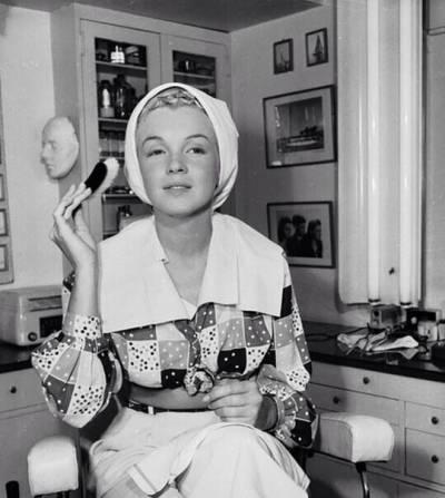Мэрилин Монро без макияжа, грима
