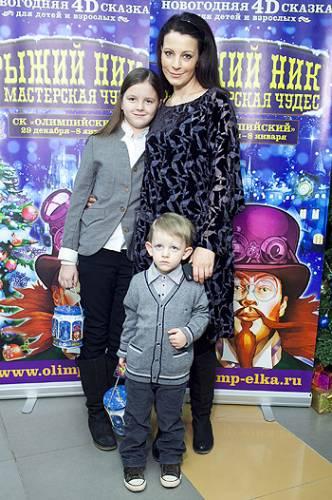 Евгения Крюкова, дети