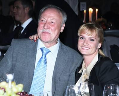 Светлана Хоркина, муж