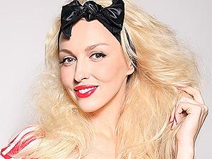 Оля Полякова без макияжа
