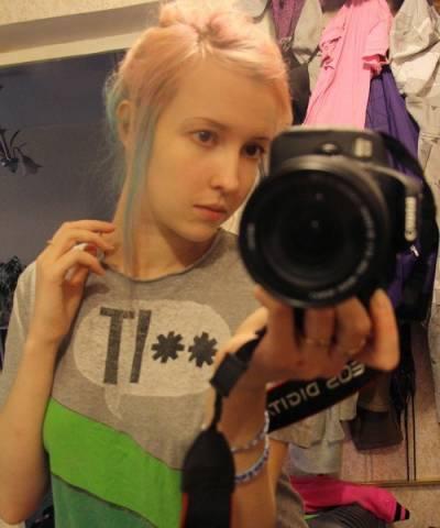 Екатерина Данина без макияжа
