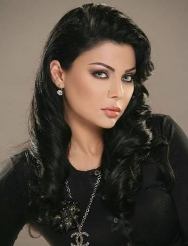 Хайфа Вахби без макияжа