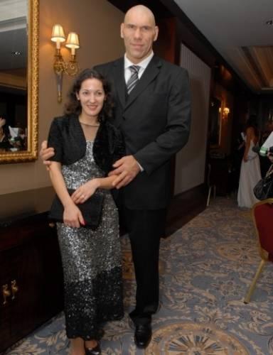 Жена Валуева рост вес
