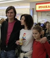 Оксана Фандера, дети