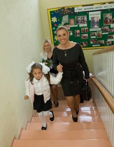 Оксана Марченко, дети