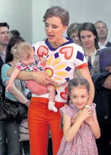 Ксения Алферова, дети
