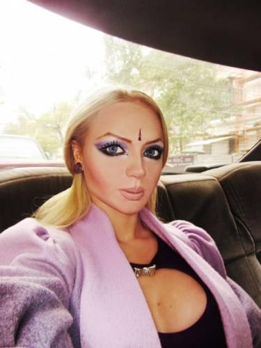 Ольга Олейник без макияжа