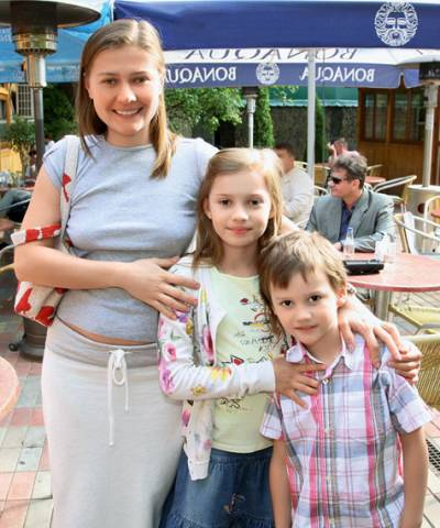 Мария Голубкина, дети
