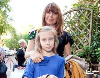Алена Апина, дети