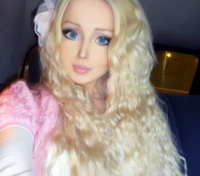 Одесская Барби без макияжа