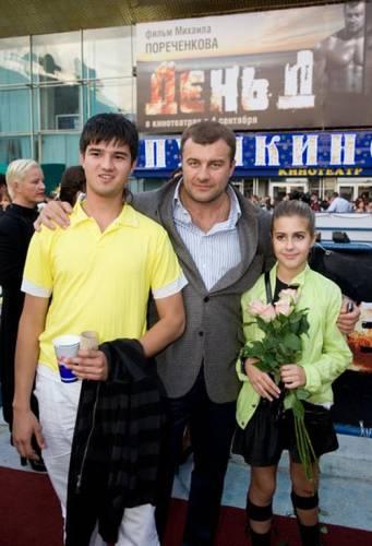 Михаил Пореченков, дети