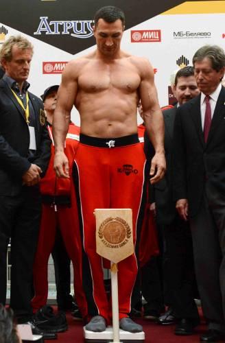 Виталий Кличко рост вес