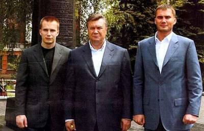 Где сейчас сыновья Януковича