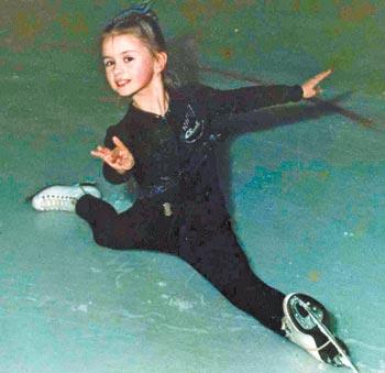 Анна Семенович в молодости