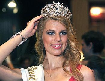 Мисс Москва 2014 без макияжа