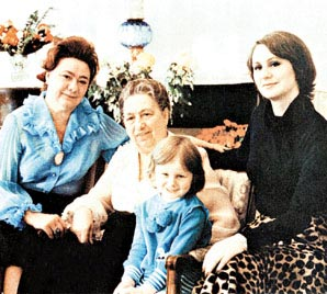 Галина Брежнева, дети