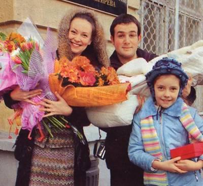 Нонна Гришаева, дети