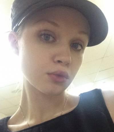 Оля Данка без макияжа