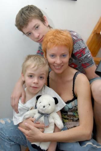 Жанна Эппле, дети