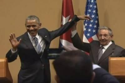Обама опозорился на Кубе