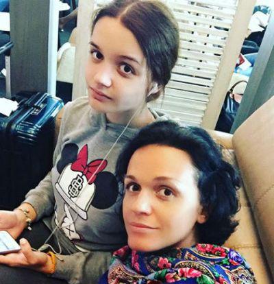 Александра Морозова, дочь певицы Славы
