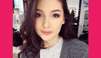 Айдана Меденова без макияжа