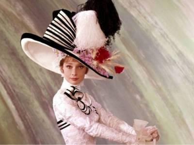 Одри Хепберн в молодости