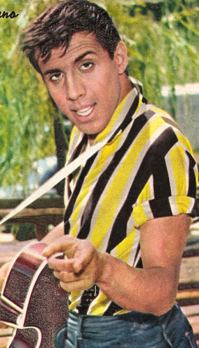 Андриано Челентано в молодости