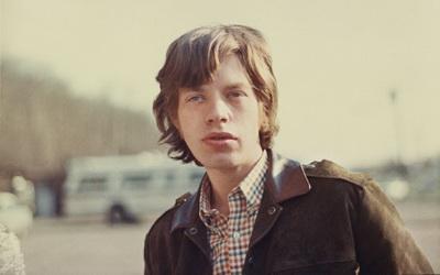 Мик Джаггер в молодости