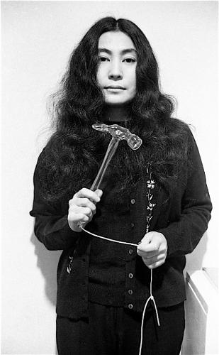 Йоко Оно в молодости