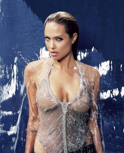 Анжелина Джоли до операции