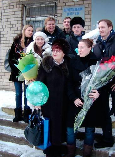 Жена Ивана Ткаченко