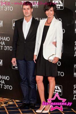 Мария Железнякова с мужем