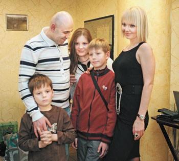 Дети Певицы Валерии